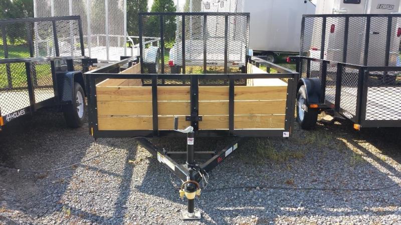 2020 Holmes 6-4x10 Wood Side Utility Trailer