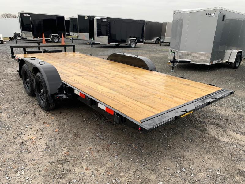 2020 H & H Trailers SpeedLoader EX Power Tilt 7x18 7K Car / Racing Trailer