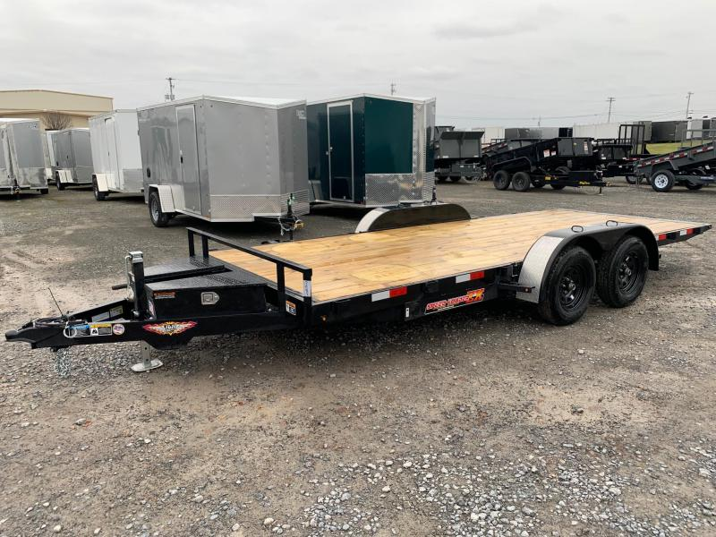 2020 H & H Trailers SpeedLoader EX Power Tilt 7x18 7K Car / Racing Trailer