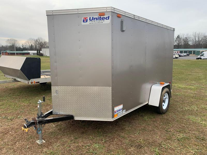 2012 United Trailers 6x10 Enclosed Cargo Trailer
