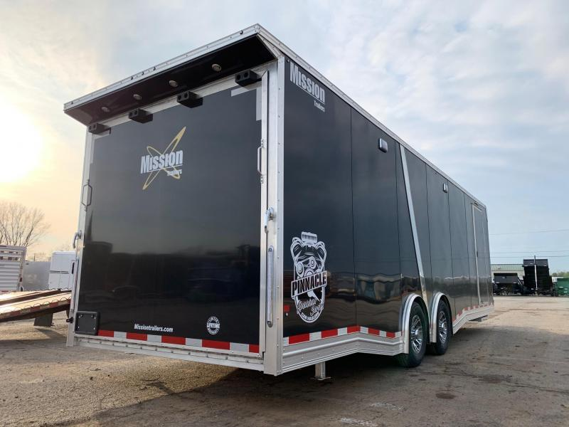 2019 Mission 8.5x28 Pinnacle Premium Car / Racing Trailer