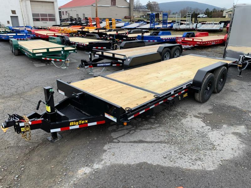 2020 Big Tex Trailers 7X20 14K Tilt Equipment Trailer