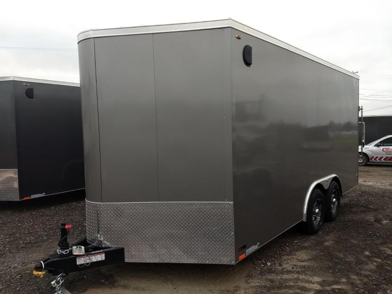 2019 Legend Manufacturing Cyclone Steel 8.5x16+V Enclosed Cargo Trailer