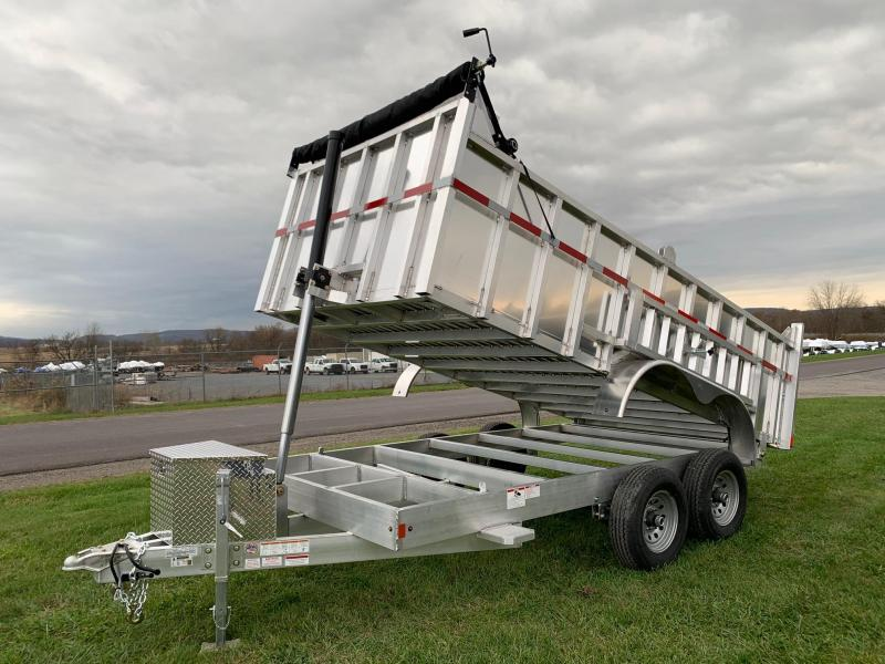 2020 Mission 7x14 12K All-Alluminum Dump Trailer