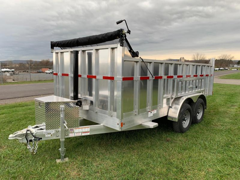 2020 Mission 7x14 12K All-Alluminum Dump Trailer