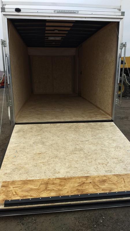 2019 Look Trailers LXT 7x16 Contractor Enclosed Cargo Trailer