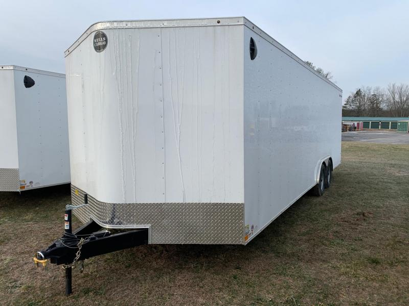 2020 Wells Cargo Fast Trac 8.5x24 10K Car/Racing Trailer