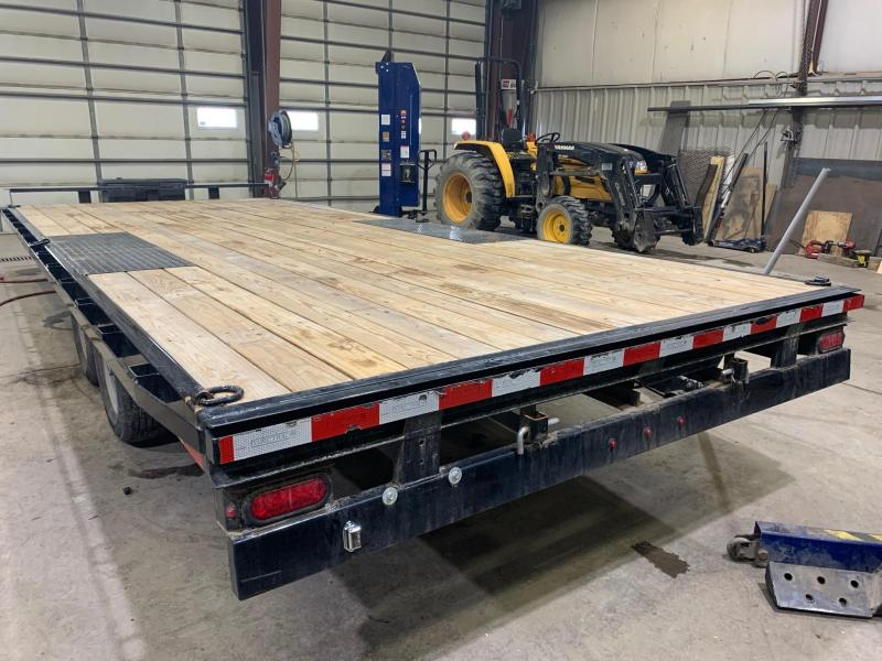 2019 Sure-Trac 20ft 10K Deckover Flatbed Trailer