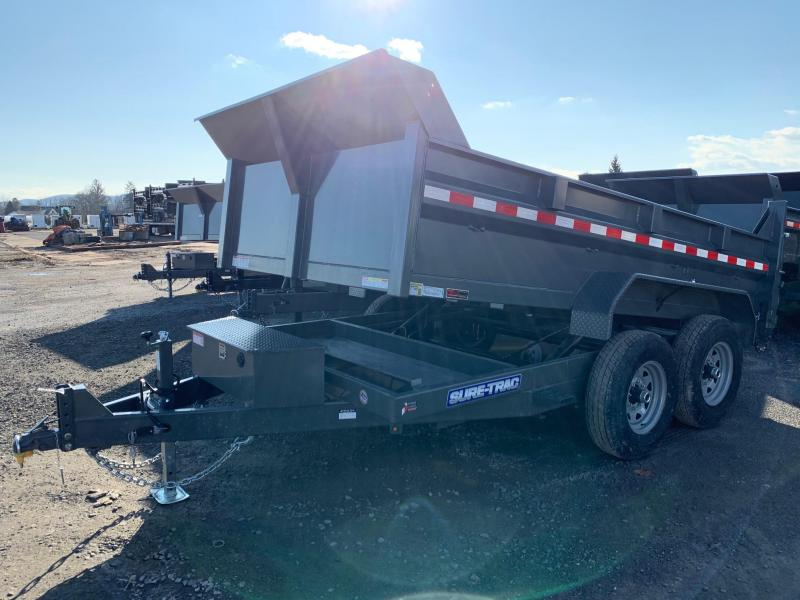 2020 Sure-Trac Low Profile 7x12 12K Dump Trailer