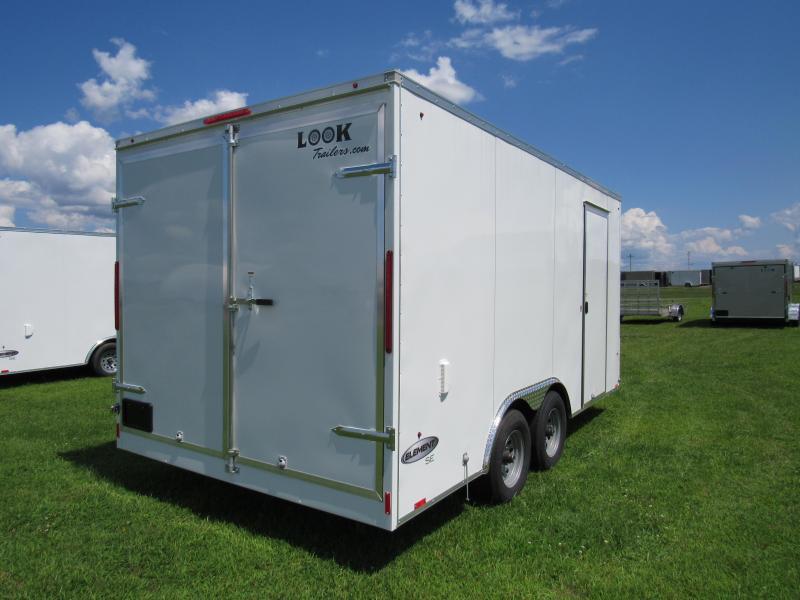 2020 Look Trailers 8.5x16 10k Element Enclosed Cargo Trailer