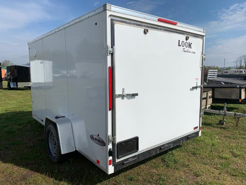 2020 Look Trailers 7x12 3.5K Enclosed Cargo Trailer