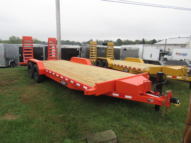 2020 Midsota NOVA ET 8222 Equipment Trailer