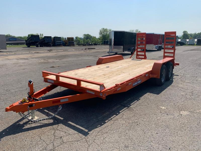 2020 Sure-Trac 7 x 18 Equipment Trailer  10K