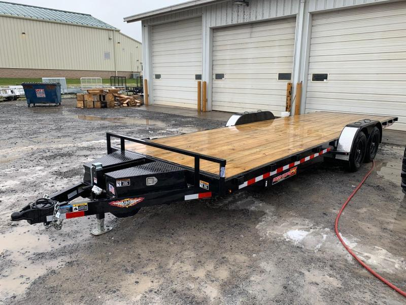 2020 H & H Trailers SpeedLoader EX Power Tilt 7x24 10K Car / Racing Trailer
