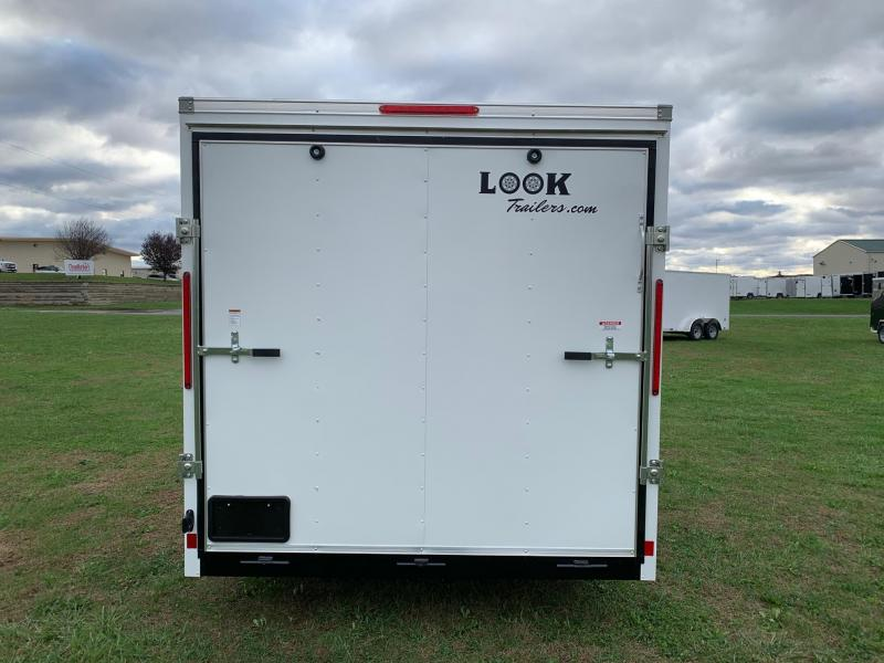 2020 Look Trailers 7x16 ST-DLX Enclosed Cargo Trailer