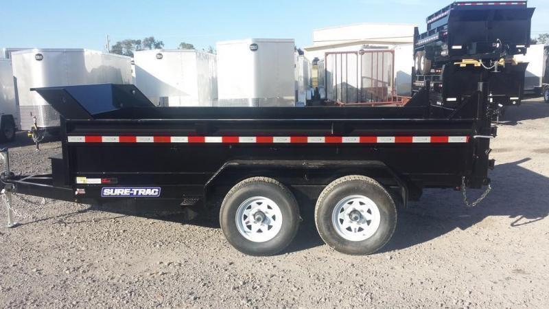 2020 Sure-Trac 6x12 Low Profile Dump Trailer