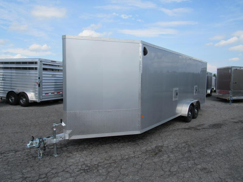 2020 Mission 7x22 Snowmobile Trailer