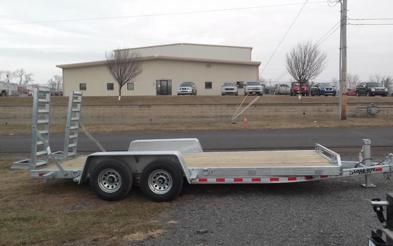 2018 Load Rite 6-10x18 10k galvanized Equipment Trailer