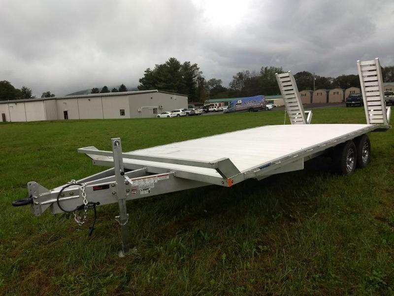2019 Mission 8x20 10k Aluminum Equipment Trailer