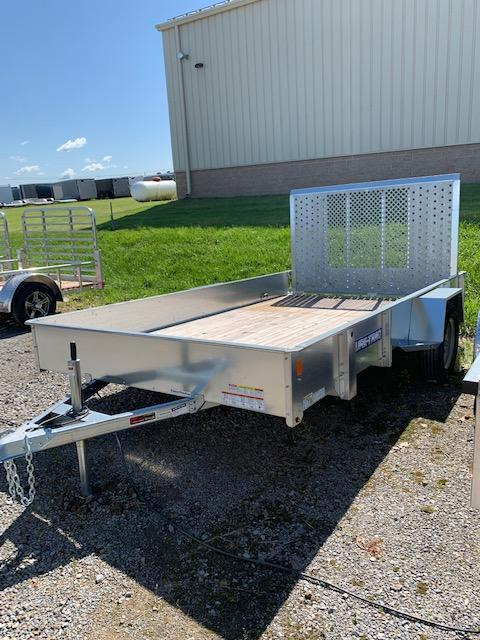 2019 Sure-Trac 7x12 Galvanized High Side Utility Trailer
