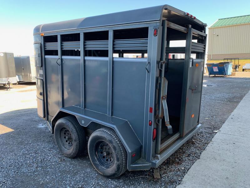 2000 CornPro 6x12 7K 2- Horse Trailer