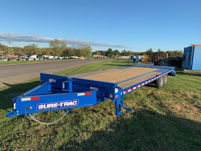 2020 Sure-Trac 8.5x25 Flatbed Trailer