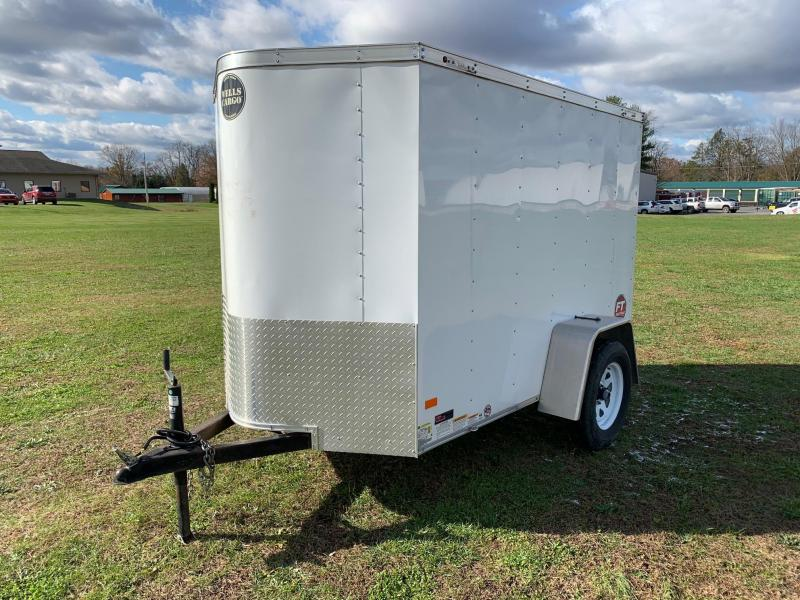 2016 Wells Cargo Fast Trac 5x8 Enclosed Cargo Trailer