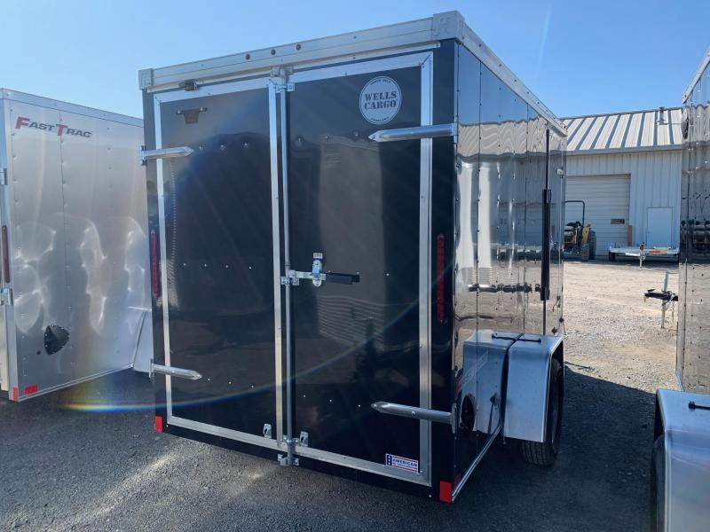 2020 Wells Cargo 6x12 3K Enclosed Cargo Trailer