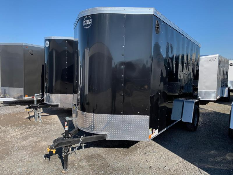 2020 Wells Cargo 6x12 3K Enclosed Cargo Trailer