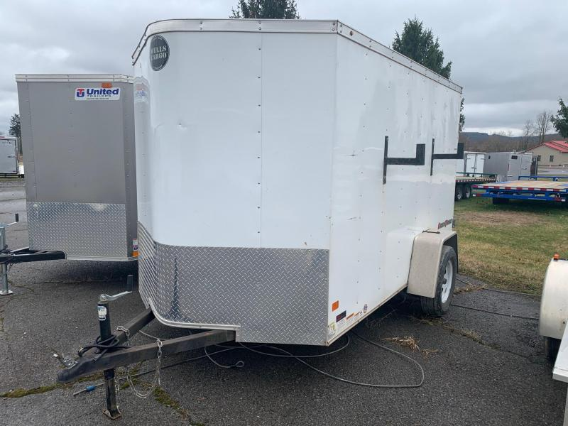 2017 Wells Cargo 6x10 Enclosed Cargo Trailer