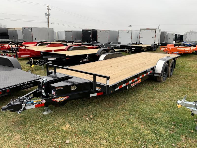 2020 H & H Trailers SpeedLoader EX Power Tilt 7x22 10K Car / Racing Trailer