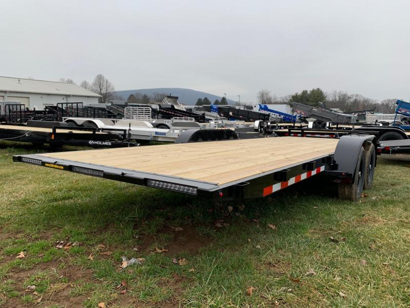 2020 H & H Trailers SpeedLoader EX Power Tilt 7x22 10K Car / Racing Trailer