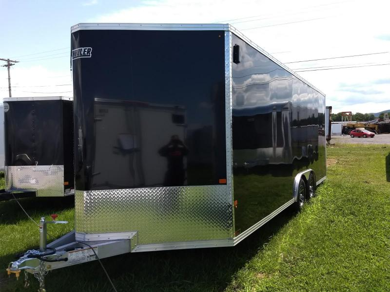 2018 EZ Hauler 8x20 7K Aluminum Car / Racing Trailer