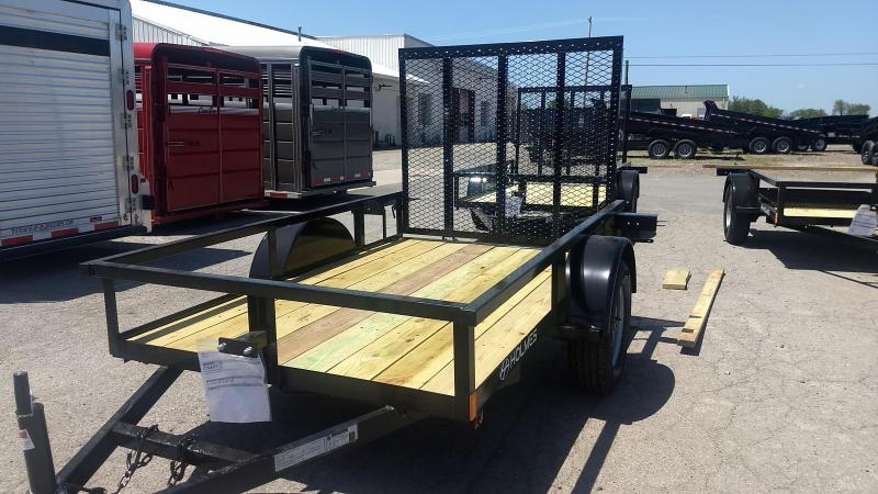 2020 Holmes 5x8 Open Side Rail Utility Trailer