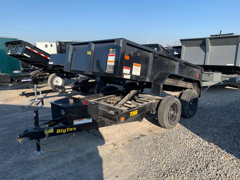 2020 Big Tex Trailers 5x10 7K Dump Trailer
