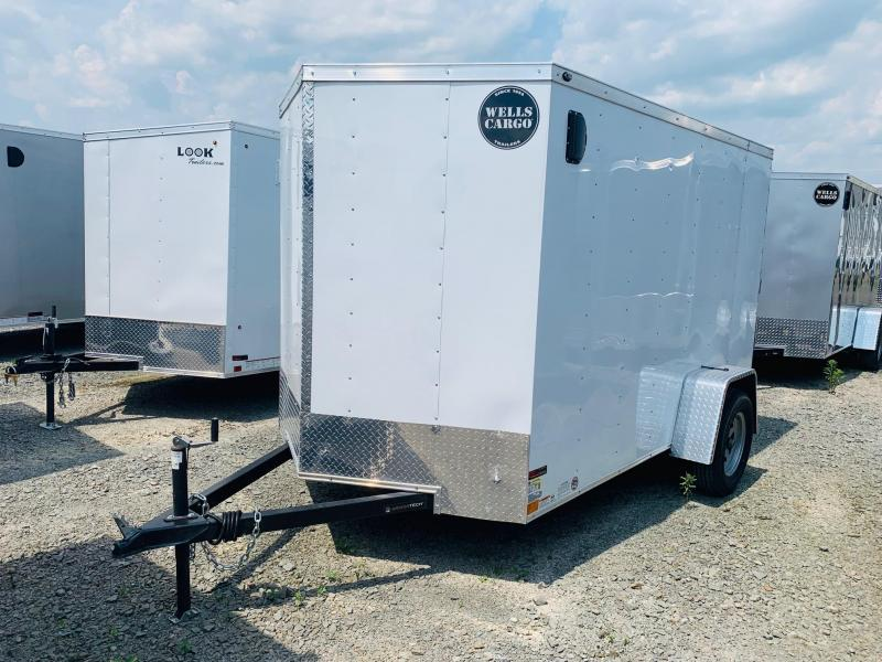 2019 Wells Cargo 6x10 Enclosed Cargo Trailer