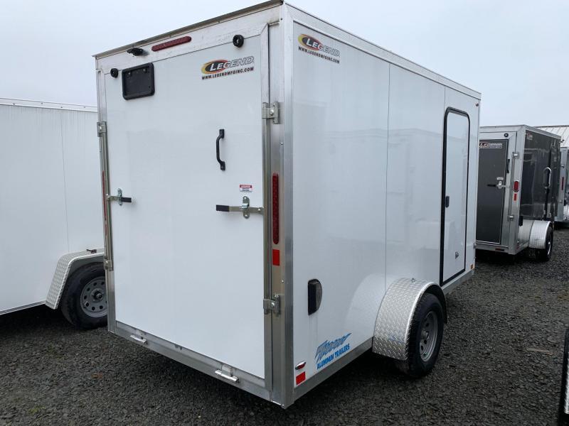 2020 Legend Manufacturing 6x13 Enclosed Cargo Trailer