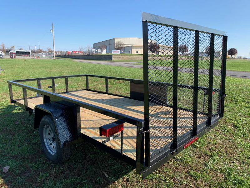 2020 Holmes 64x12 Commercial Utility Trailer