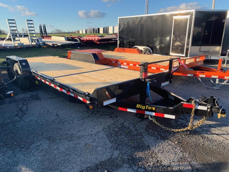 2020 Big Tex Trailers 7x22 Tilt Bed Equipment Trailer