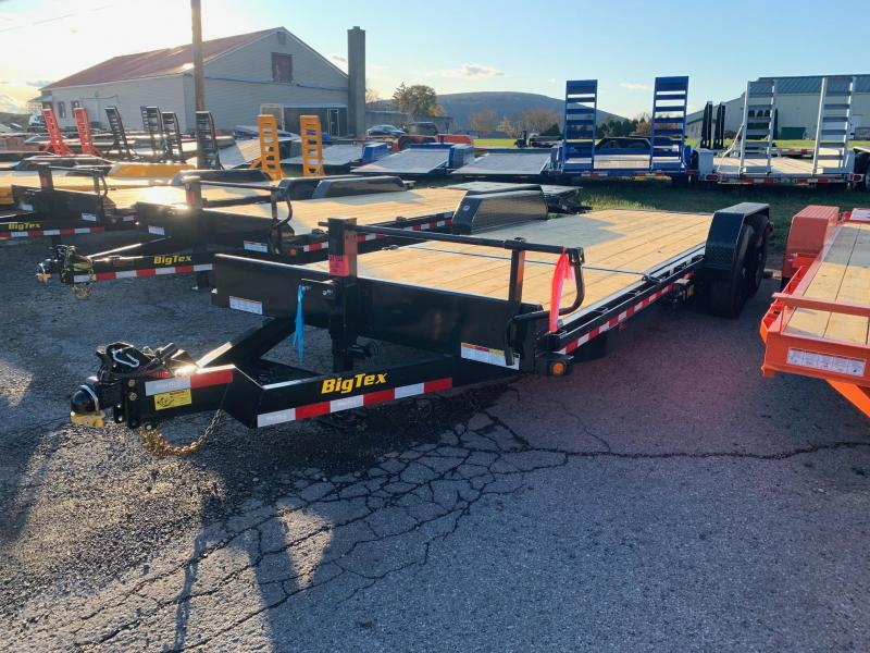2020 Big Tex Trailers 7x22 Tilt Bed Equipment Trailer