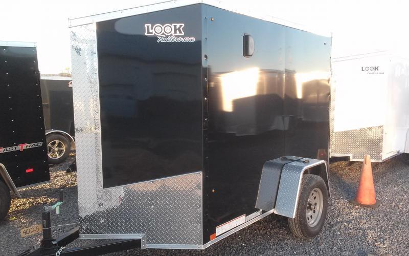 2018 Look Trailers 5x8 Element SE Enclosed Cargo Trailer