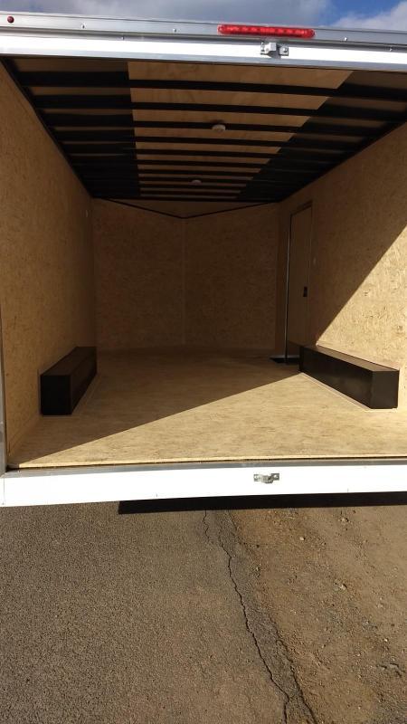 2020 Look Trailers 8.5x16 7K Cargo/Enclosed Trailer