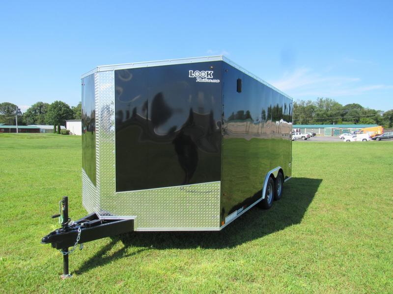 2020 Look Trailers 8.5x16 Element Enclosed Cargo Trailer