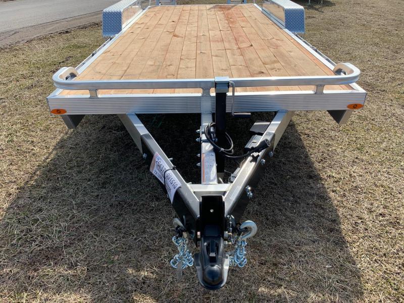 2020 Legend Manufacturing 7x18 (16'Deck/2'Beaver) 10K Equipment Trailer