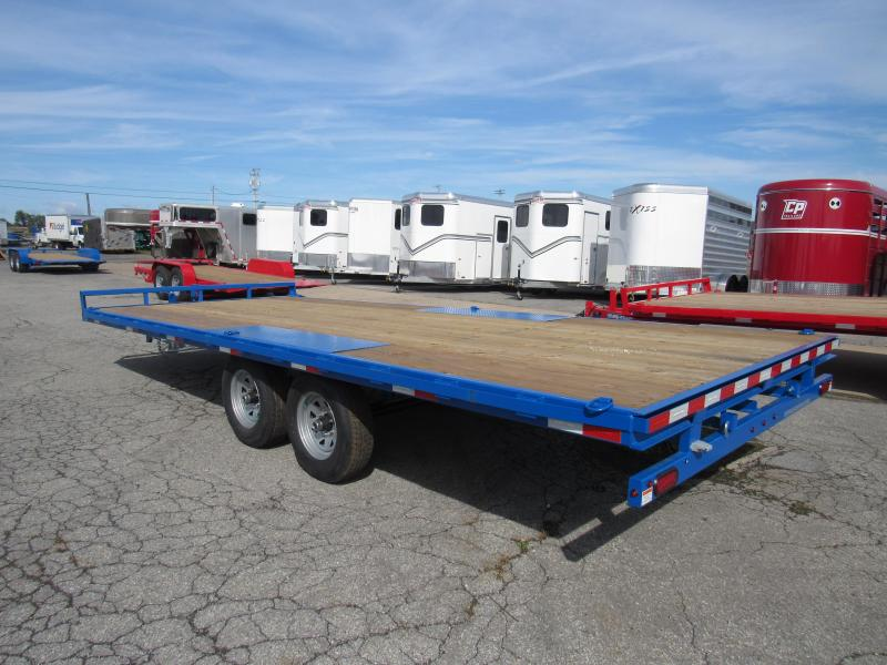 2020 Sure-Trac 8.5X 20 10K Deckover Flatbed Trailer
