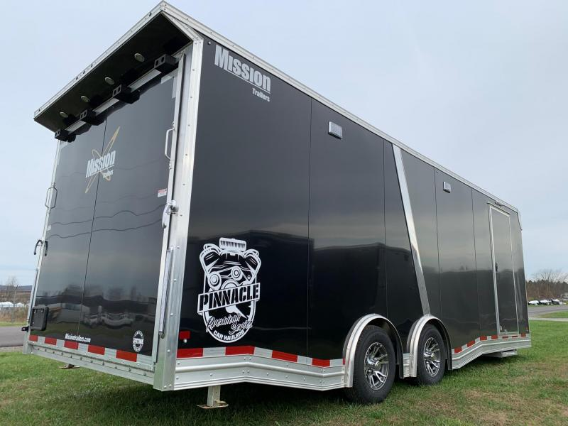 2020 Mission Pinnacle 24ft 10K Car / Racing Trailer