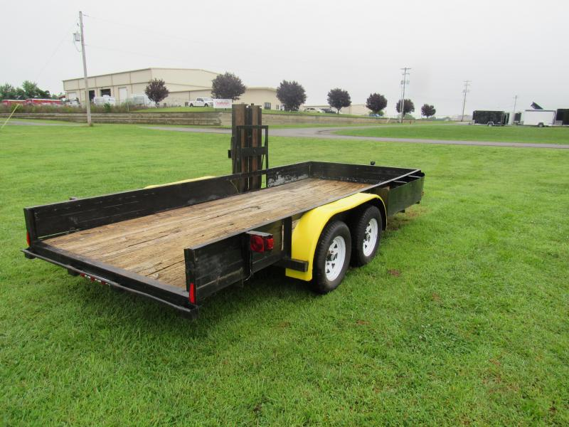 2008 Big Tex Trailers 6'4x16 Car / Racing Trailer