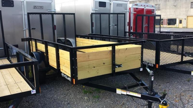 2020 Holmes 5x10 Board Side Utility Trailer