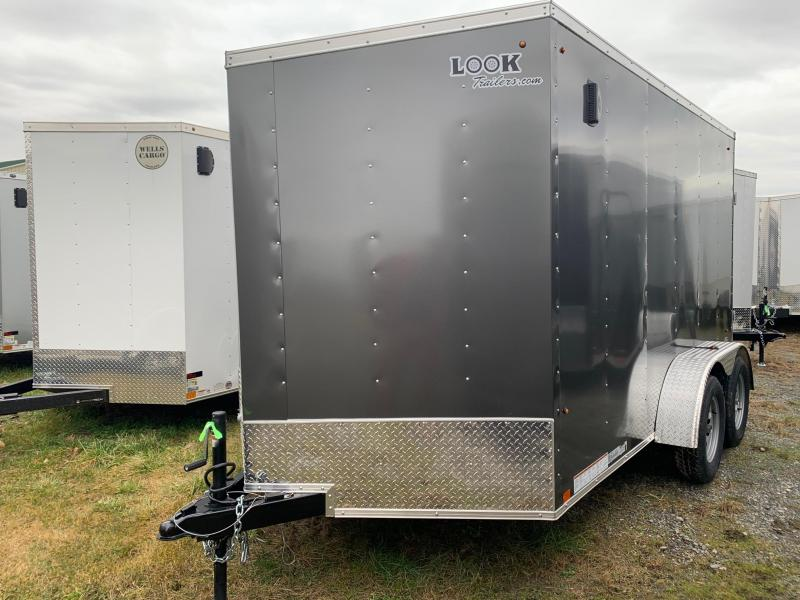 2021 Look Trailers 7x12 7K DLX-ST Enclosed Cargo Trailer