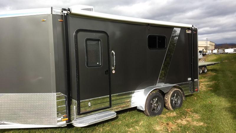 2019 Legend Manufacturing 7x19 all aluminum Enclosed Cargo/Camping Trailer